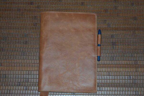 Fundas de piel para cuadernos o agendas