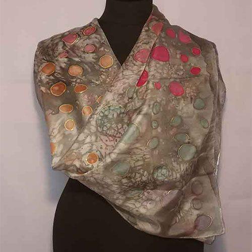 pañuelos de seda naturales
