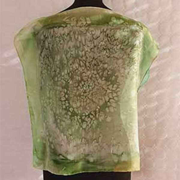 blusas de seda natural