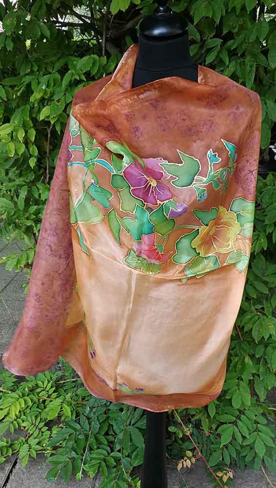 pañuelos en seda naturales, pañuelos de mujer