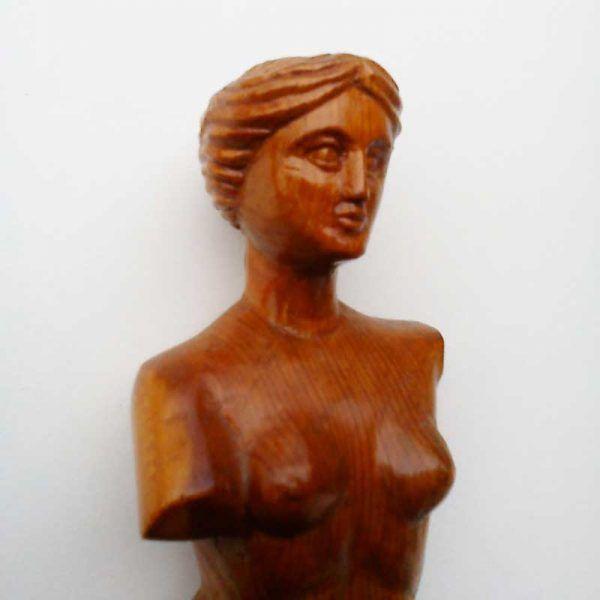 Replica en madera de Venus de Milo, decoracion, regalos artesanales