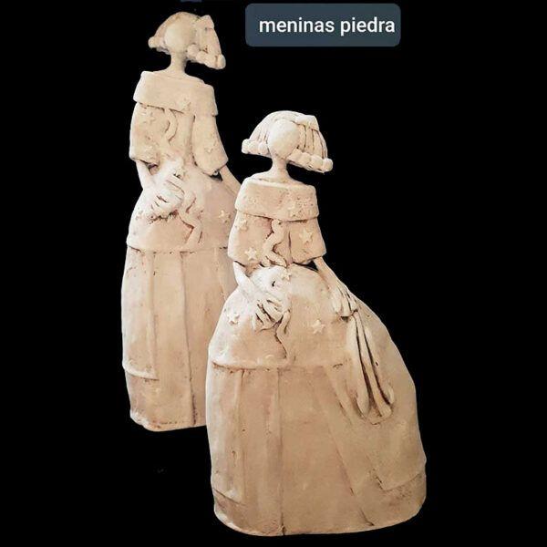 meninas artesanales, papel reciclado, carton, artesania, madrid, hecho a mano, velazquez