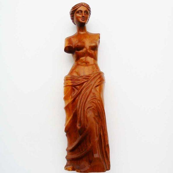 Escultura de madera, Replica en madera de Venus de Milo, decoracion, regalos artesanales