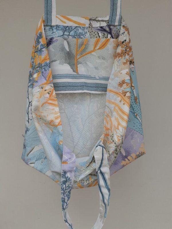 bolso de tela de algodon, bolso artesanal