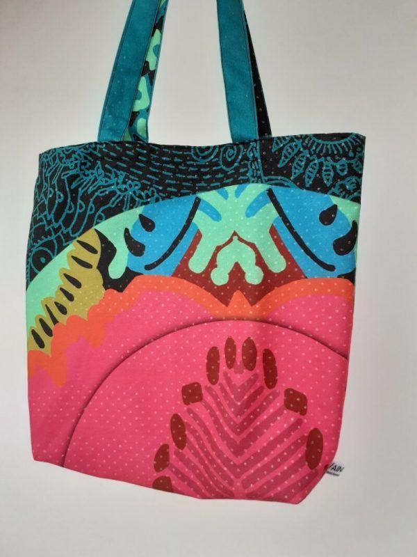 Bolso shopping diseño, bolsos ecologicos de tela, bolsos de algodon