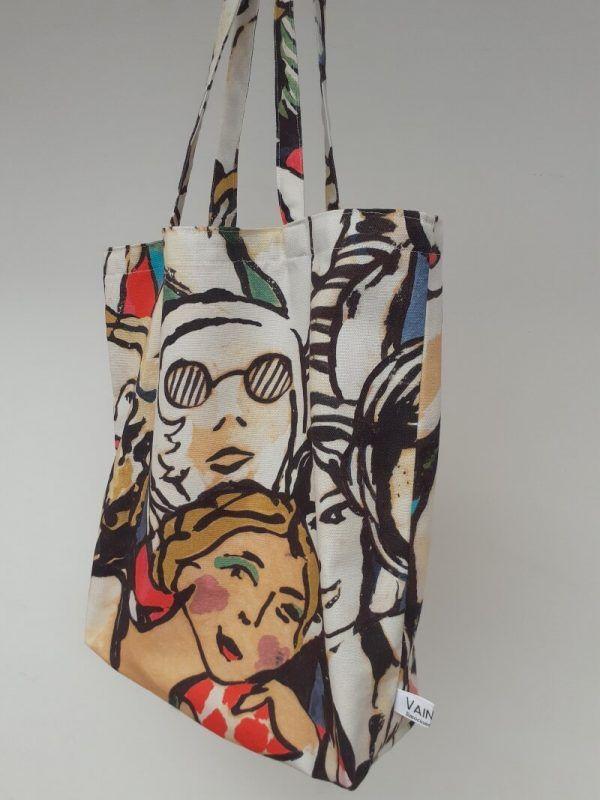 bolsa de tela hecha a mano, bolsas ecologicas, bolsas de diseño