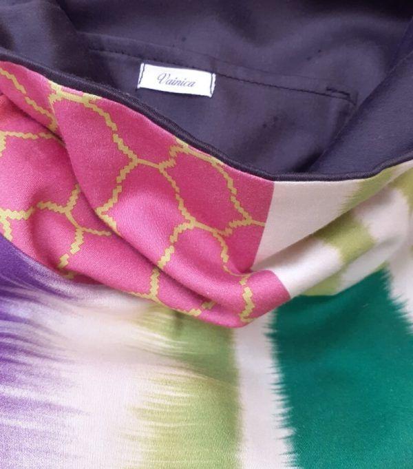 bolso de tela de algodon, bolso hecho a mano