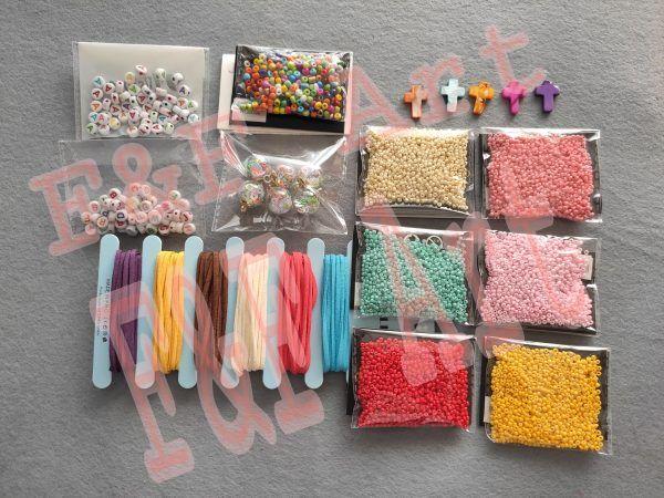 materiales para collares y pulseras