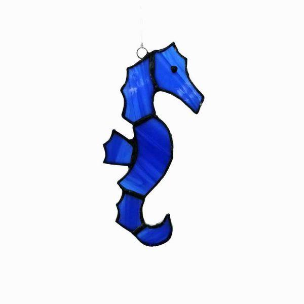 caballito de mar azul