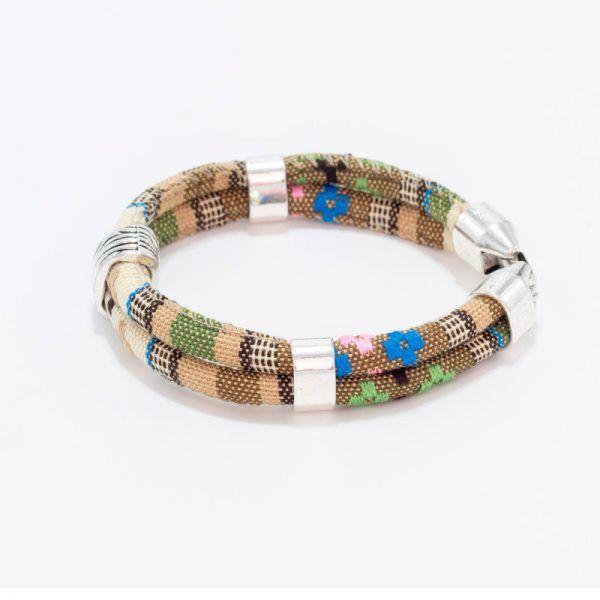 pulseras de algodon, pulseras artesanales
