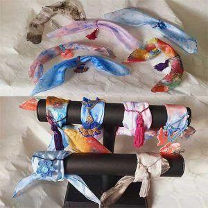 pulseras de seda, pulseras de seda para mujer