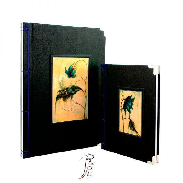 """Libreta artesanal """"Ser Inesperado"""" encuadernación japonesa"""