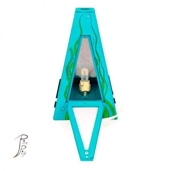 lampara artesanal de mesa