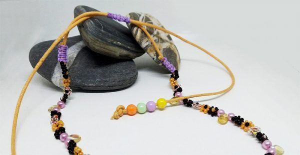 collar artesanal ajustable