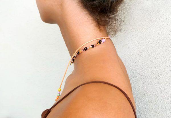 Collar ajustable daisy La Tita Bijoux s2