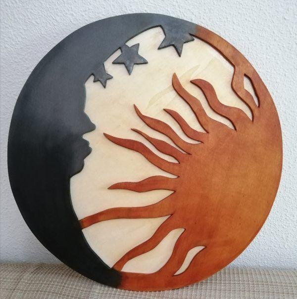 cuadro de madera hecho a mano