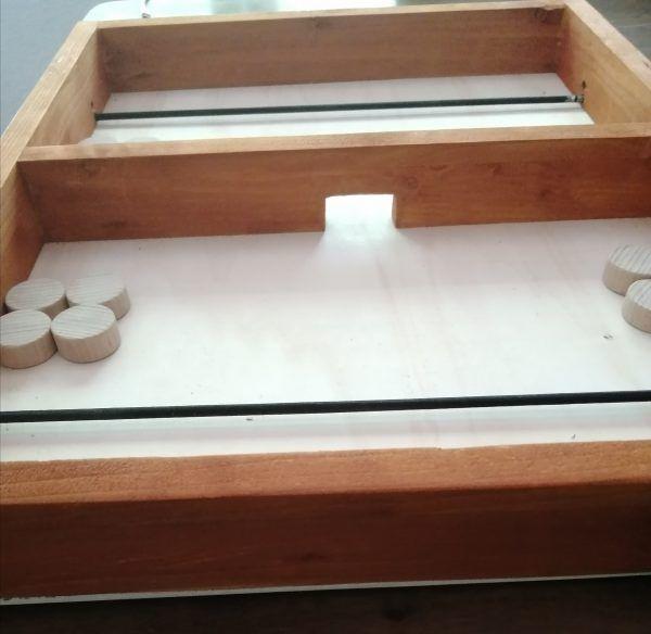 tabla de futbol de madera