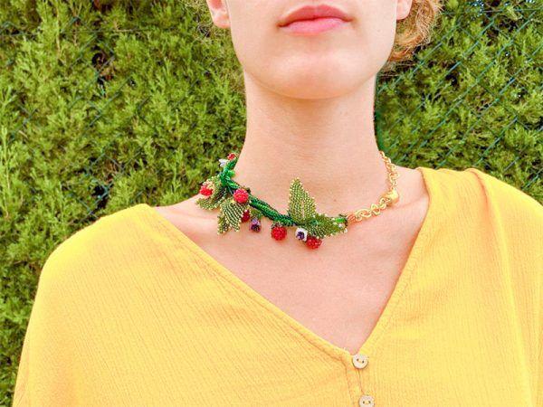 collar artesanal la tita bijuox