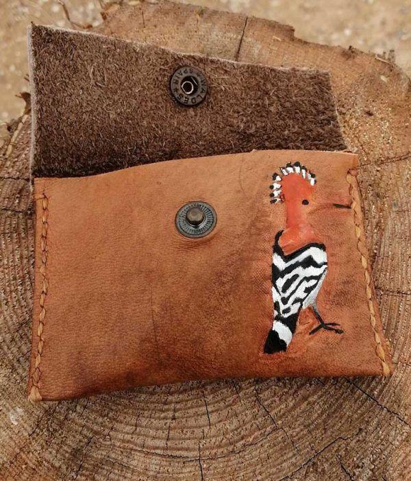 carteras artesanales, artesania de cuero, hecho a mano